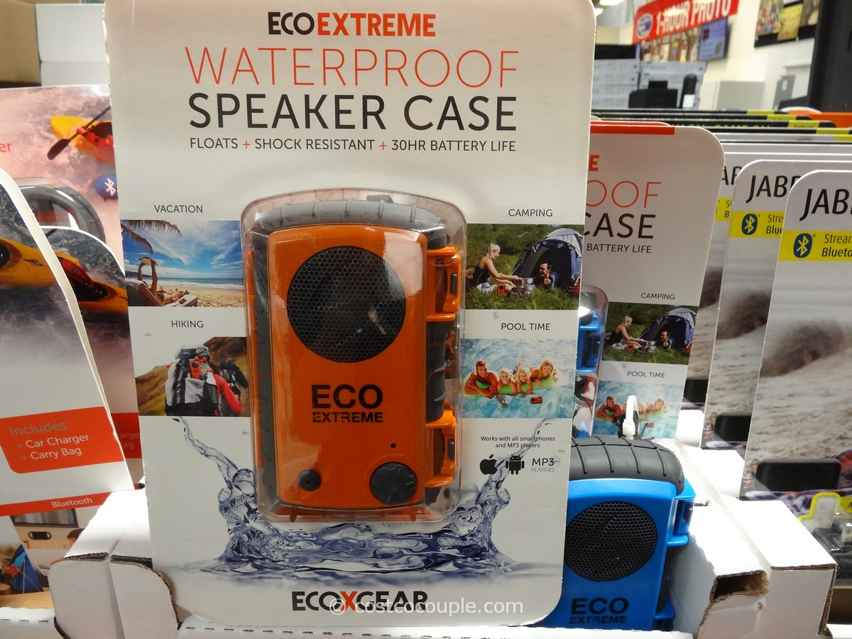 EcoExtreme Waterproof Speaker Case Costco