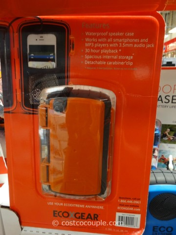 EcoExtreme Waterproof Speaker Case Costco 2