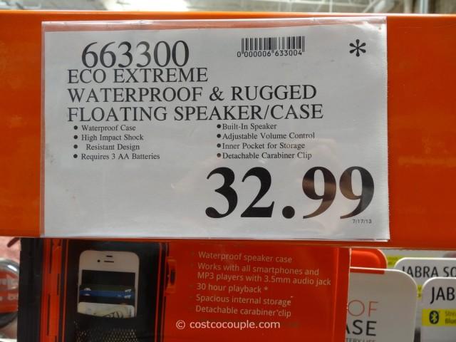 EcoExtreme Waterproof Speaker Case Costco 3