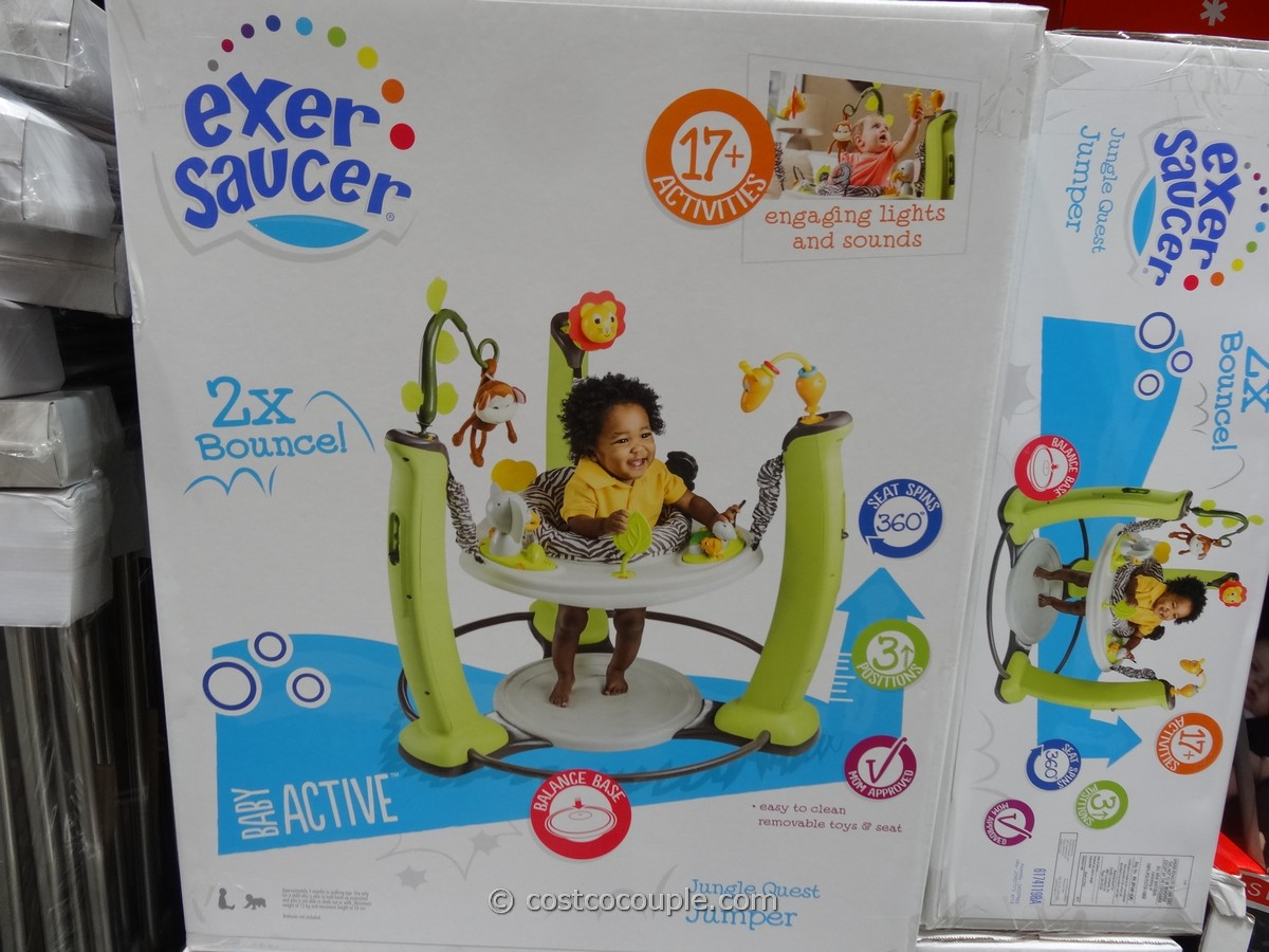 EvenFlo Exersaucer Jungle Quest Jumper Costco 2