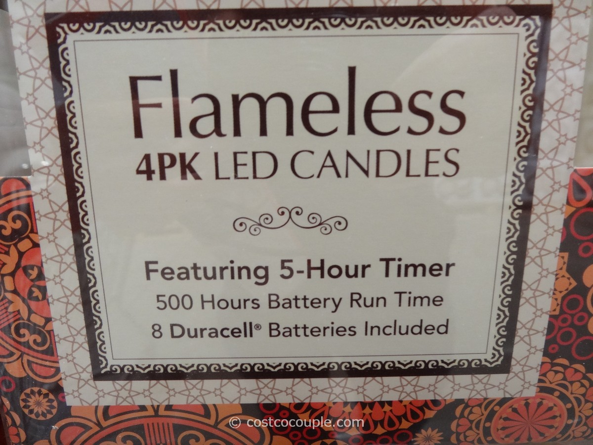Flameless Led Pillar Candles