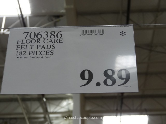 Floor Care Felt Pads Costco 3