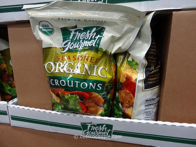 Fresh Gourmet Organic Croutons Costco