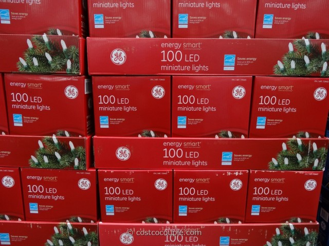 GE Energy Smart Mini White LED Lights Costco 1