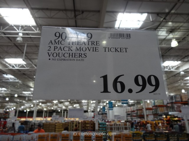 Gift Card  AMC Theater Movie Ticket Costco 1