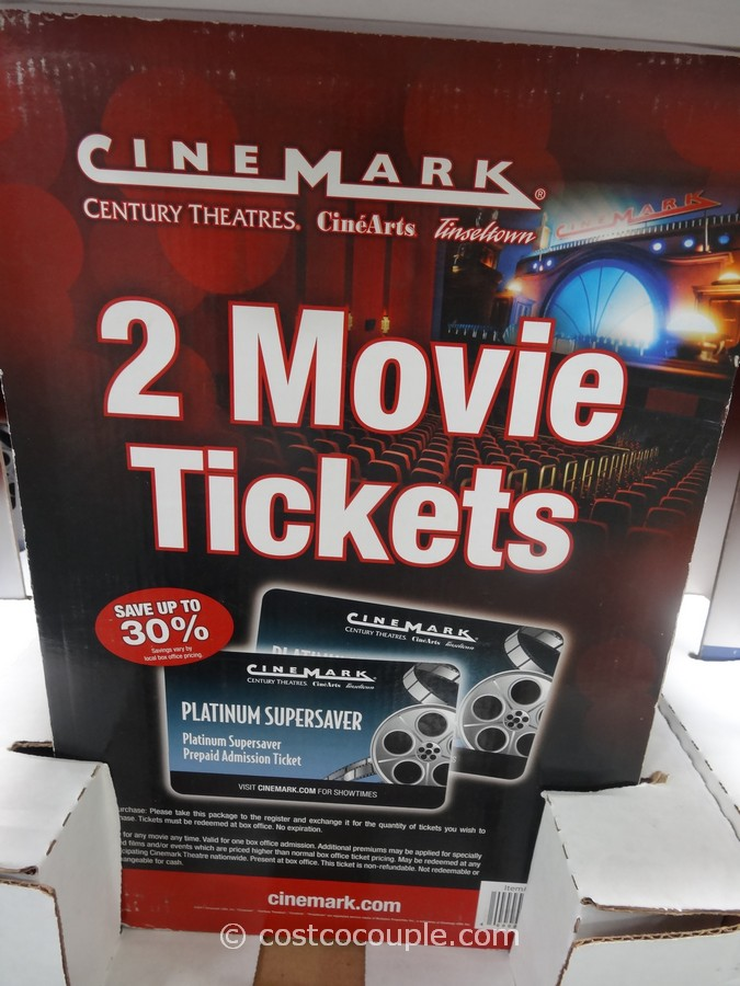 Gift Card Cinemark Costco 4