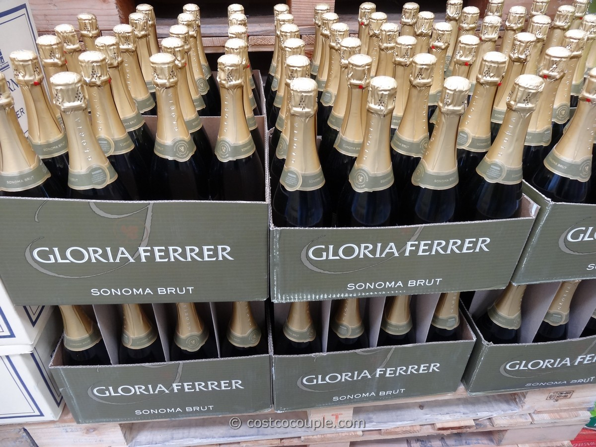 the gloria ferrer sonoma brut sparkling wine has a 90 point rating