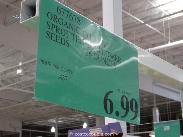 Go Raw Organic Sprouted Sunflower Seeds Costco