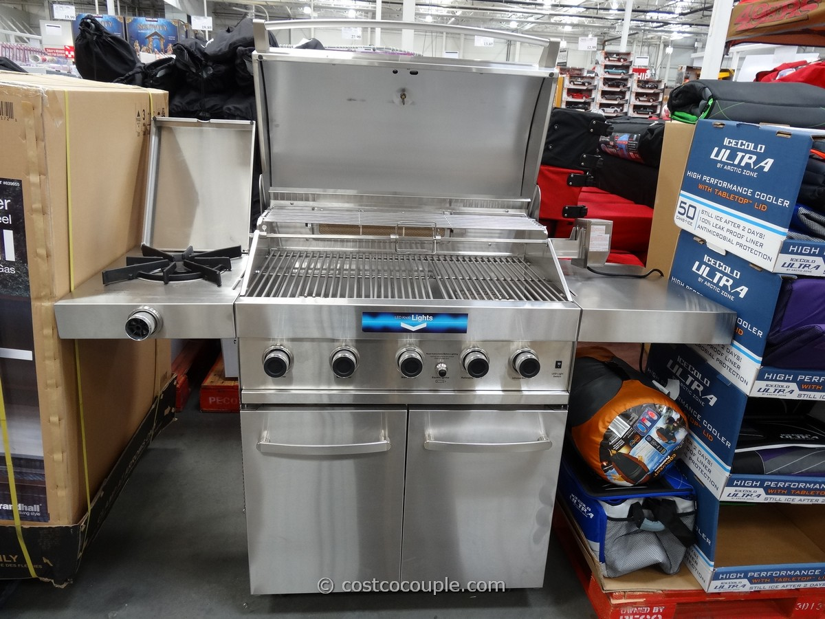 Grand Hall 6 Burner Stainless Steel Grill Costco 1