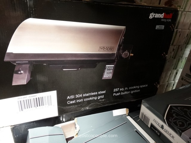 Grand Hall Table Top Gas Grill Costco 5