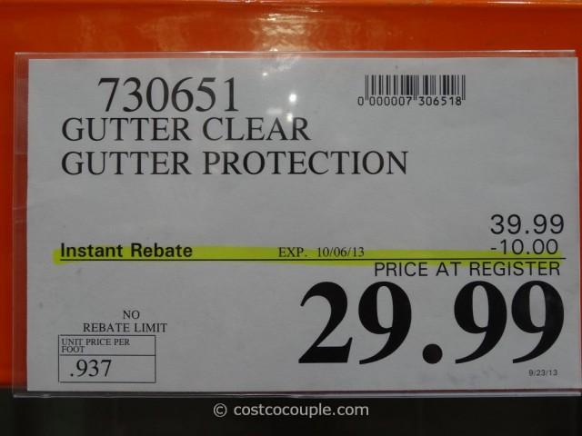 Gutter Clear Costco