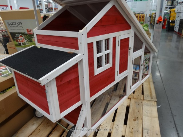 Habitat Chicken Bunny Coop Costco 1