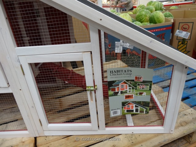 Habitat Chicken Bunny Coop Costco 3