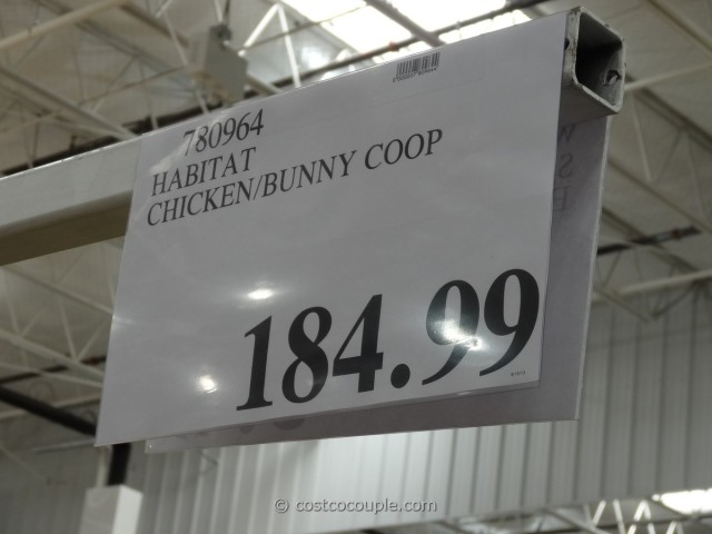 Habitat Chicken Bunny Coop Costco 4