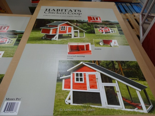 Habitat Chicken Bunny Coop Costco 7