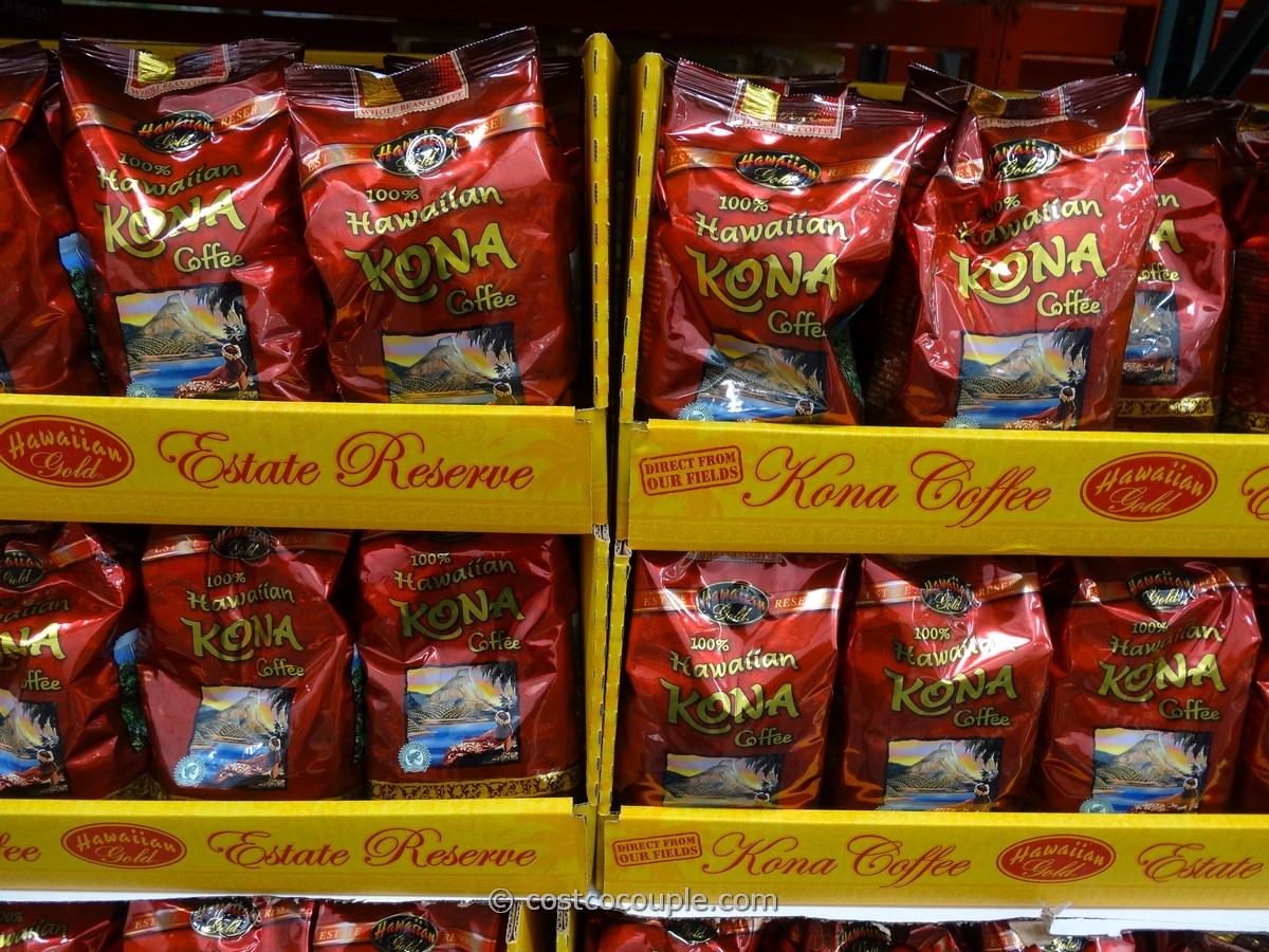 Hawaiian Gold Kona Coffee Costco 1