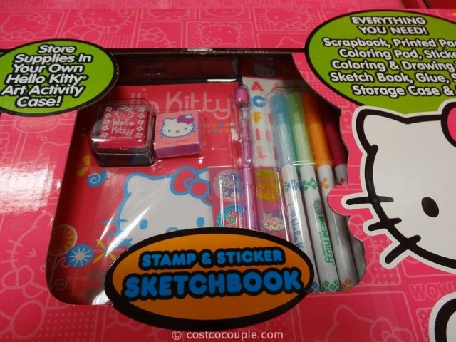 Hello Kitty All-In-One Art and Activity Set Costco