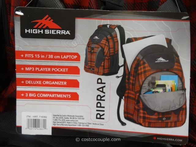 High Sierra RipRap Backpack Costco 1