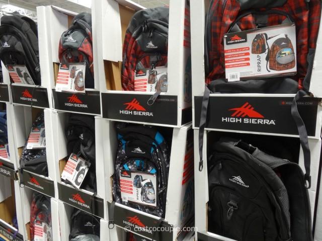 High Sierra RipRap Backpack Costco 3