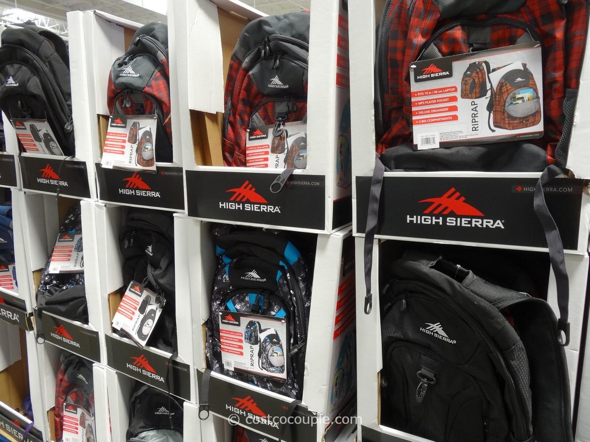 High Sierra RipRap Backpack Costco