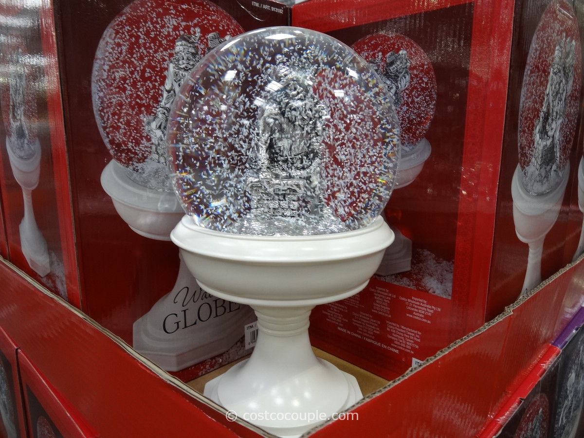 Holiday Water Globe Costco 1