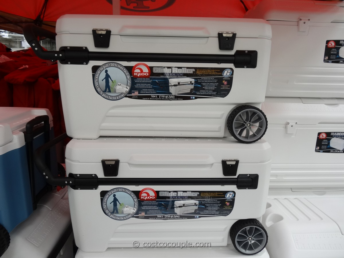 Igloo Glide Rolling Cooler Costco 2