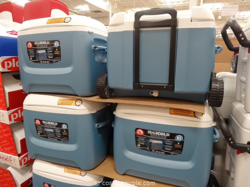 Igloo Maxcold Premium Wheeled Cooler Costco