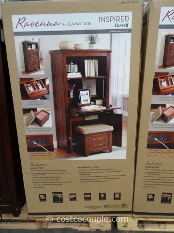 Office Star Products Ravenna Hideaway Desk