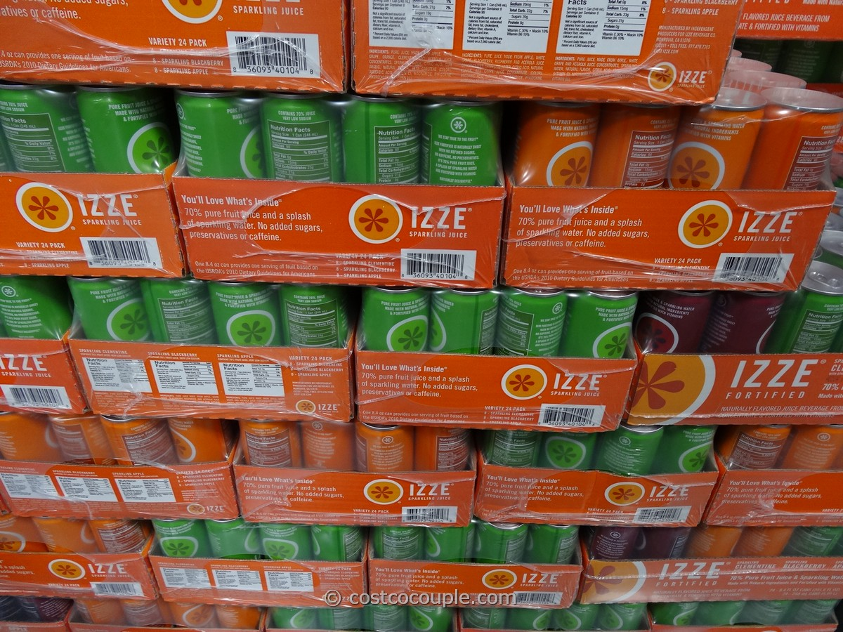 Izze Sparkling Juice Costco 1