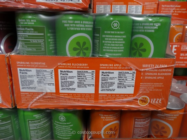Izze Sparkling Juice Costco 2