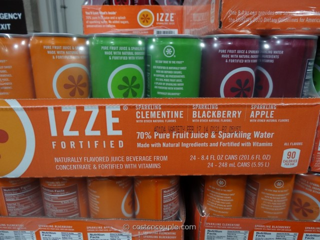 Izze Sparkling Juice Costco 4