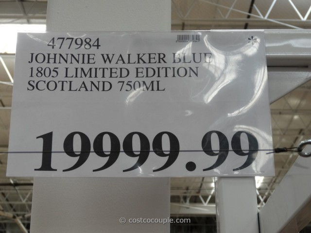 Johnny Walker 1805 Blue Label Limited Edition