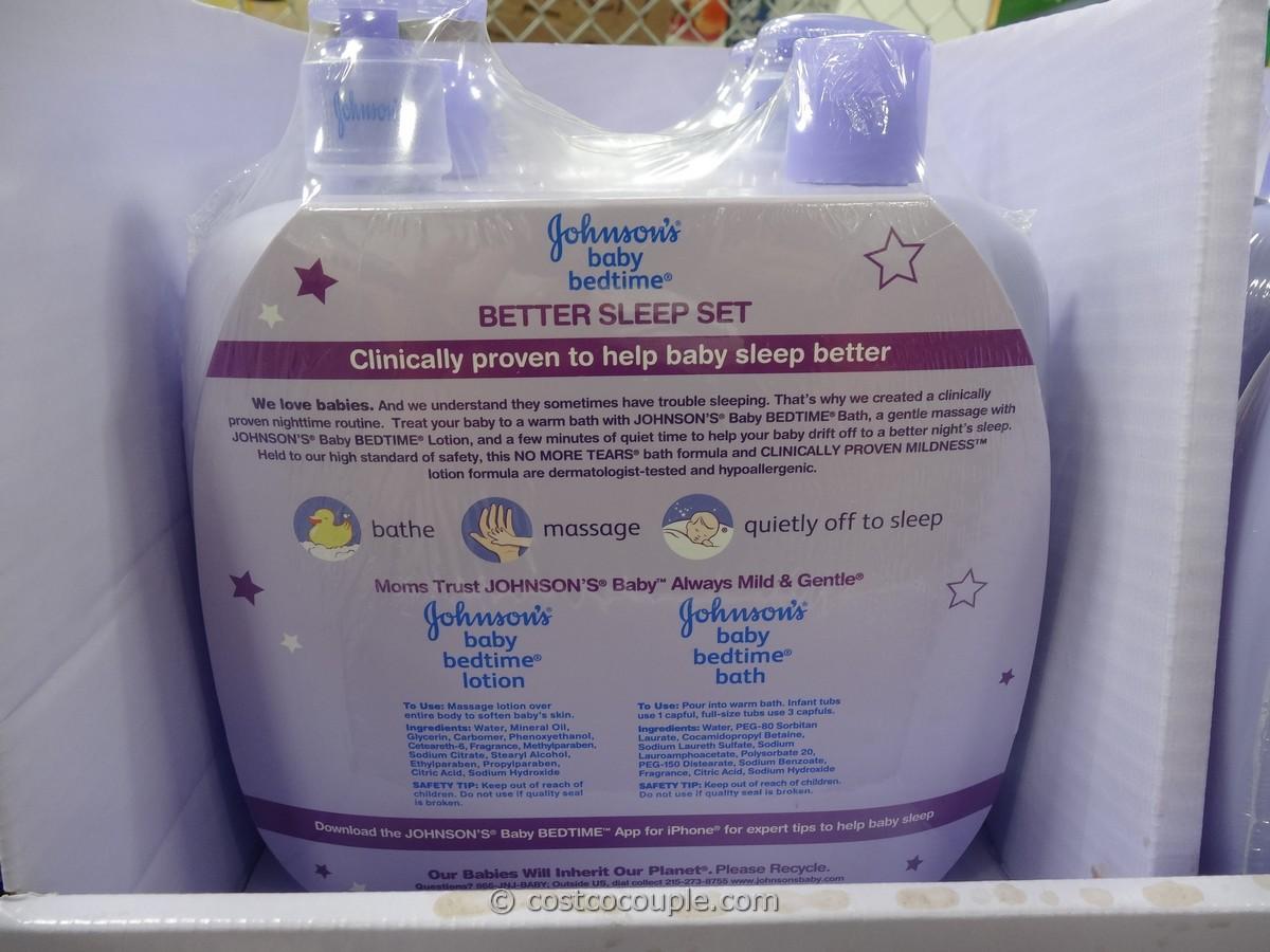 Johnson S Baby Bedtime Better Sleep Set
