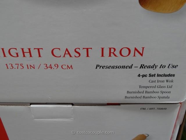 Joyce Chen Lightweight Cast Iron Wok Costco 4