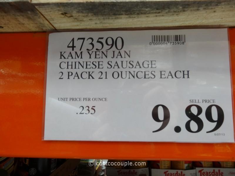 Kam Yen Jan Chinese Sausage