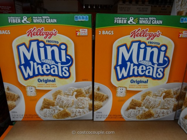 Kellogg's Frosted Mini-Wheats Costco 2