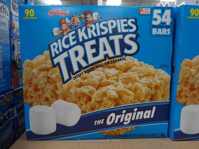 Kellogg's Rice Krispies Treats Costco 2