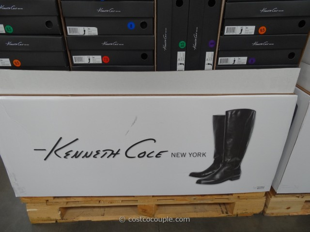 Kenneth Cole Ladies Leather Boot Costco 1