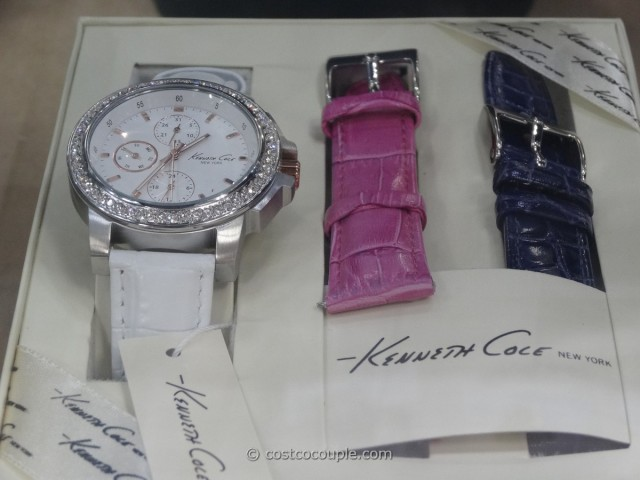 Kenneth Cole Ladies Swarovski Bezel Watch Costco 1