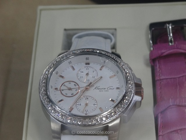 Kenneth Cole Ladies Swarovski Bezel Watch Costco 2