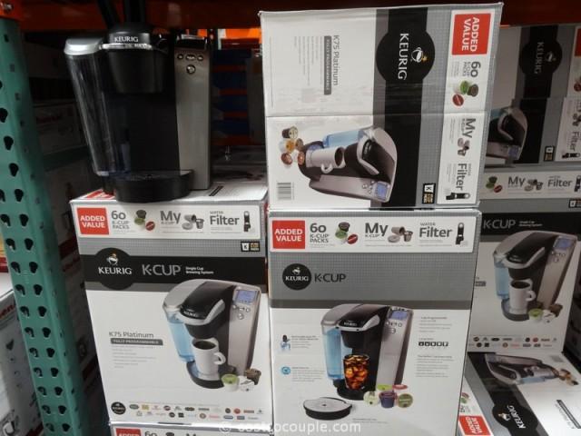 Keurig K75 Single Cup Brewing System Costco