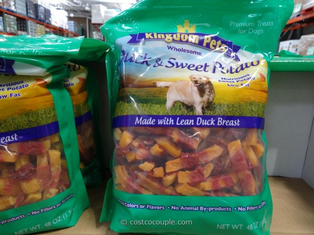 Kingdom Pets Duck and Sweet Potato Treat Costco 1