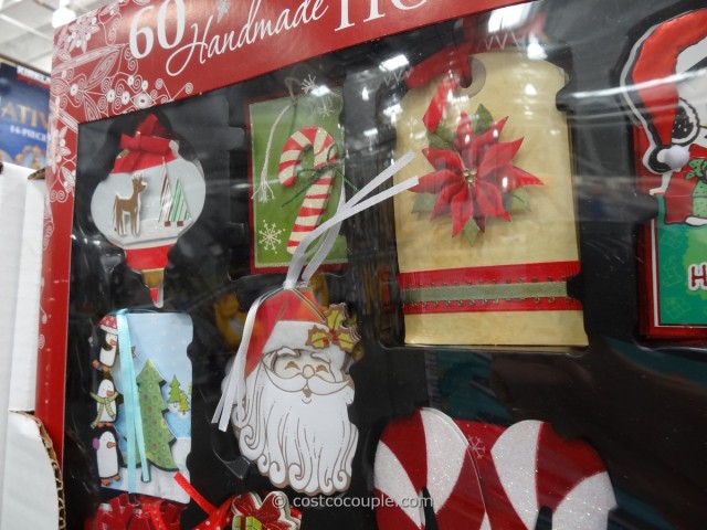 Kirkland Signature Holiday Gift Tags Set Costco 4