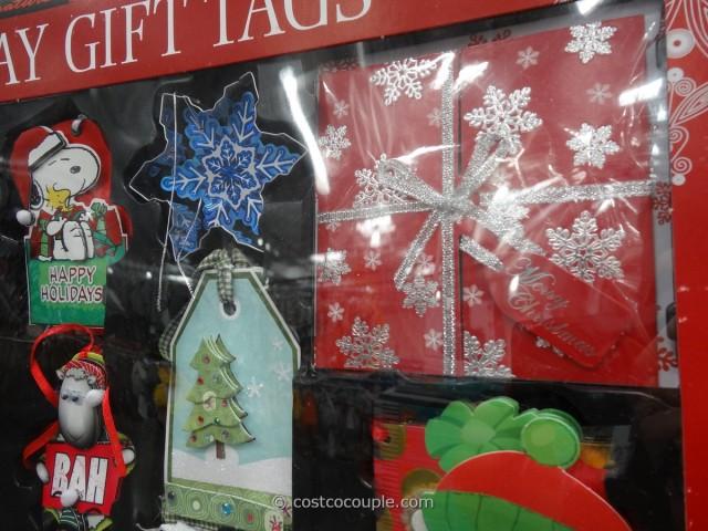 Kirkland Signature Holiday Gift Tags Set Costco 5