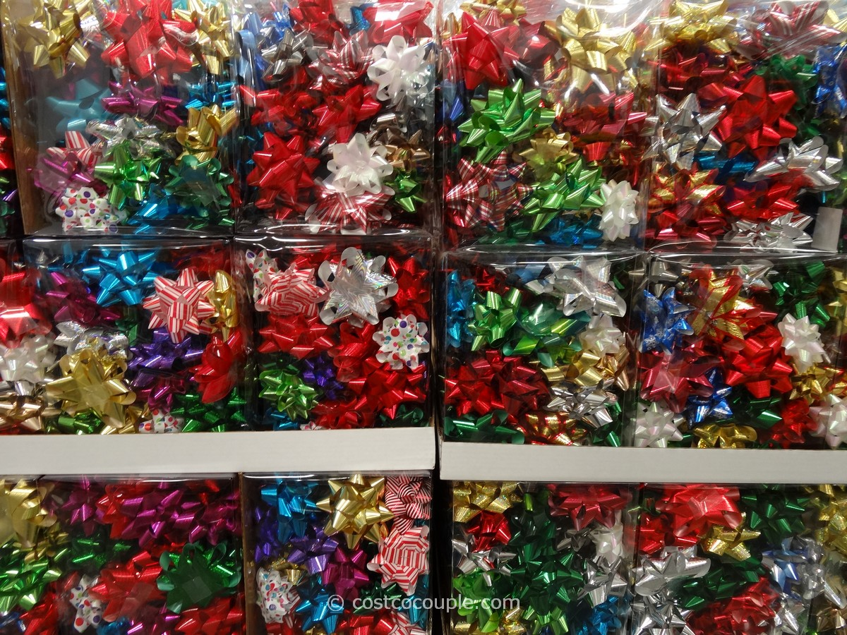 Kirkland Signature 50 Gift Bows Costco 1