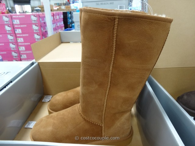 Kirkland Signature Classic Tall Shearling Boot Costco 4