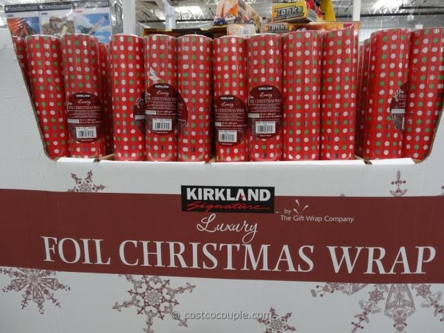 Kirkland Signature Foil Christmas Wrap Costco 1