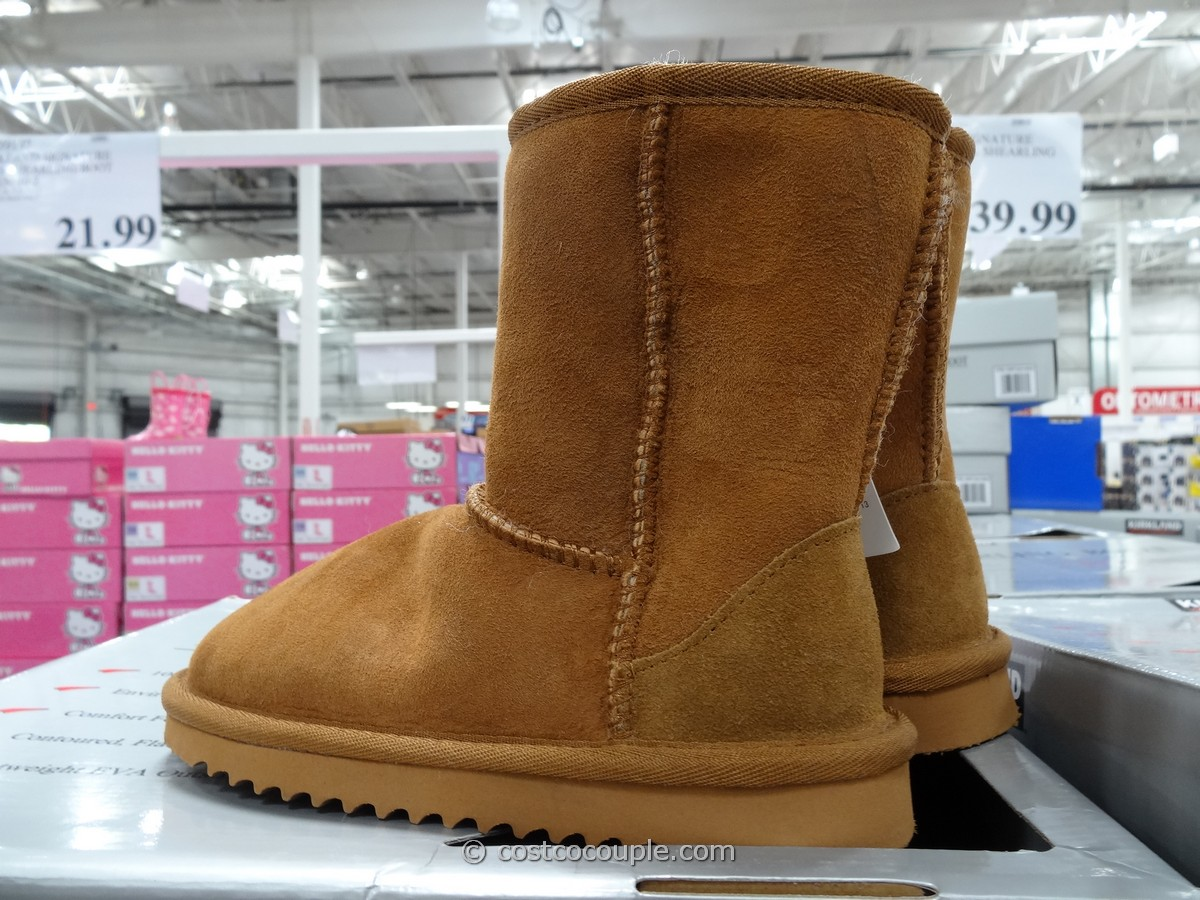 Kirkland Signature Kids Shearling Boot Costco 1