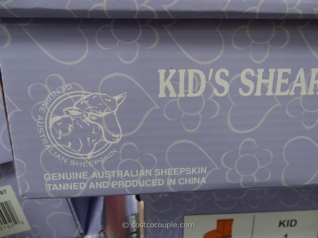 Kirkland Signature Kids Shearling Boot Costco 4
