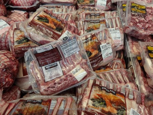 Kirkland Signature Lamb Rib Roast Costco 1